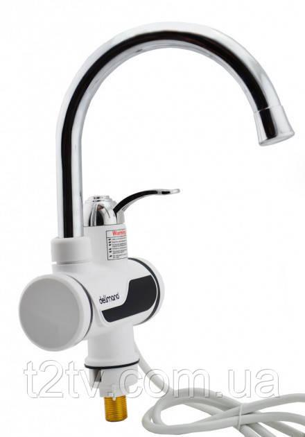 Проточный водонагреватель бойлер кран LCD RX002 3916