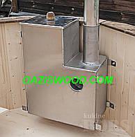Навесная печка внутренняя для купелей, офуро японской бани