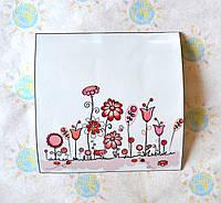 Наклейка на выключатель Цветы 2