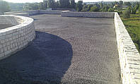 Создание уклонов кровель из полистирол бетона, фото 1