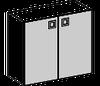 Шкаф  низкий Morion 23\803  900х400х800