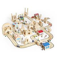 Игрушка Guidecraft Block Play Дорожная система, 42 детали (G6713), фото 1
