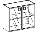 Шкаф  низкий Morion 23\804  900х400х800