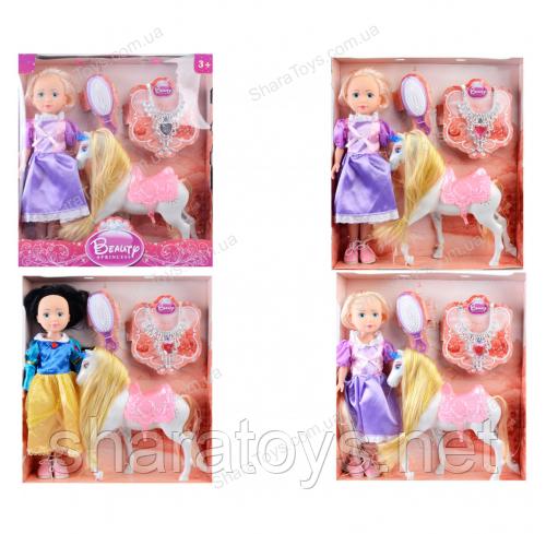 """Кукла """"Принцесса с лошадью"""""""