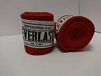Боксерский бинт EVERLAST - 3 м, 2 цвета, фото 1