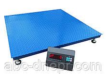 Платформні ваги 1500 кг