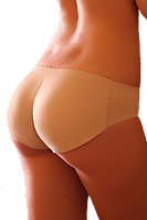 Трусы Push Up пуш ап (Модель № 3101) Накладная попа (бежевый цвет, черный, красный)