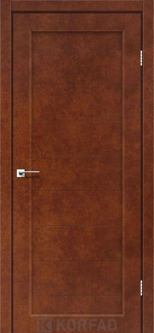 Двери Korfad PR-05 Сталь кортен