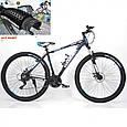 Горный Велосипед Найнер HAMMER-29 Черно-Синий Япония Shimano на рост от 190 см, фото 2