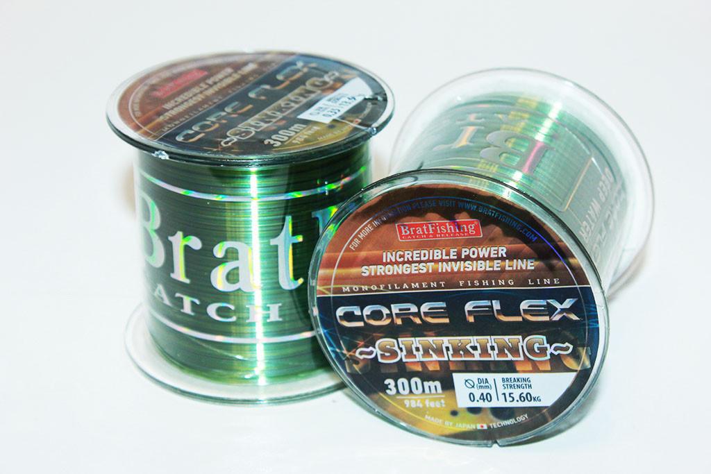 Волосінь CORE FLEX SINKING 0,60 мм