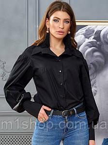 Женская рубашка с принтом на спине (Ринаjd)