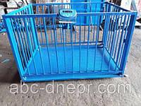 Весы для взвешивания свиней от 300 кг до 3 тонн ВТП-Ж-300(3000)