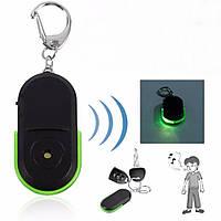 Брелок для пошуку ключів на свист з зеленою індикацією, фото 1