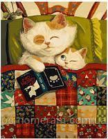 Картина по номерам Милые коты