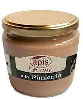 """Паштет из свиной печени """"Ароматный перец""""  Pate Pimienta Apis 160г Испания"""