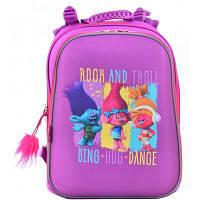 Рюкзак школьный 1 Вересня каркасный H-12 Trolls (554369)