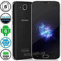 Смартфон Doogee X9 Mini (1/8Gb) Black + Подарок Защитное Стекло