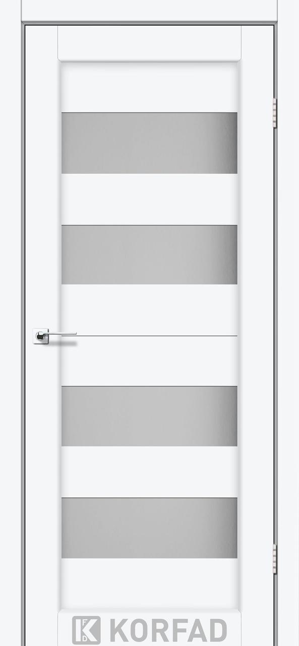 Двери Korfad PR-07 Белый перламутровый