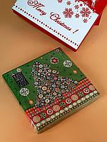 Салфетки новогодние Christmas tree (уп-20 шт)