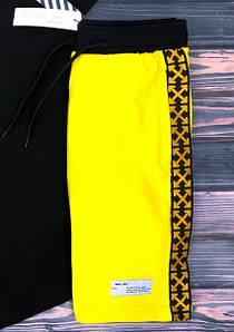 Шорты OW желт., желтый Крест