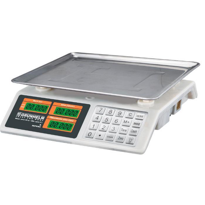Ваги торгові 50 кг Grunhelm GSC-053 (89533)