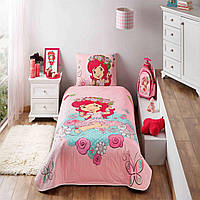 Стеганное покрывало TAC Disney Shortcake Candy 160×220см + наволочка