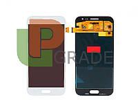Дисплей для Samsung J200H Galaxy J2 + тачскрин, белый, OLED, копия хорошего качества