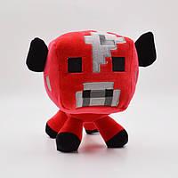 Мягкая игрушка Mushroom Cow Грибна корова из игри Minecraft Майнкрафт
