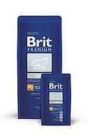 Корм для собак Brit Premium Light 15 кг, брит для собак склонных к полноте