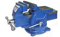 Тиски станочные поворотные СТАЛЬ 47120 125 мм