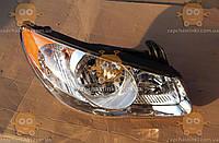 Фара правая Hyundai ELANTRA (желтый угол) (пр-во EuroEx Венгрия) ЕЕ 11567