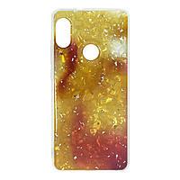 Чехол силиконовый для Xiaomi Redmi Note 5 / Note 5 Pro | Baseus light stone gold