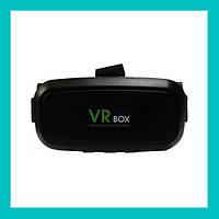 Очки виртуальной реальности VR BOX с пультом (черные)!Акция
