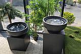 Декоративний фонтан чаша на кубі, фото 2