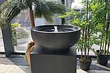 Декоративный фонтан чаша на кубе, фото 3