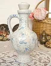 Керамическийколлекционный кувшин, керамики, пробковая крышка, Германия, 1 литр