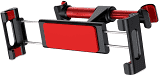 Автодержатель Baseus Backseat Car Mount SUHZ, Черный/Красный