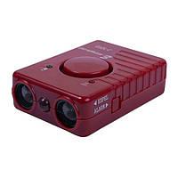 """Потужний ультразвуковий відлякувач собак з акумулятором і сиреною """"J-1003"""" (дію до 20 м), фото 1"""