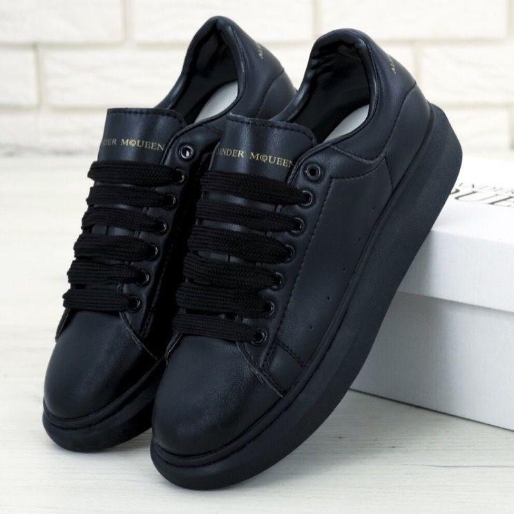 Женские кроссовки в стиле Alexander McQueen All Black