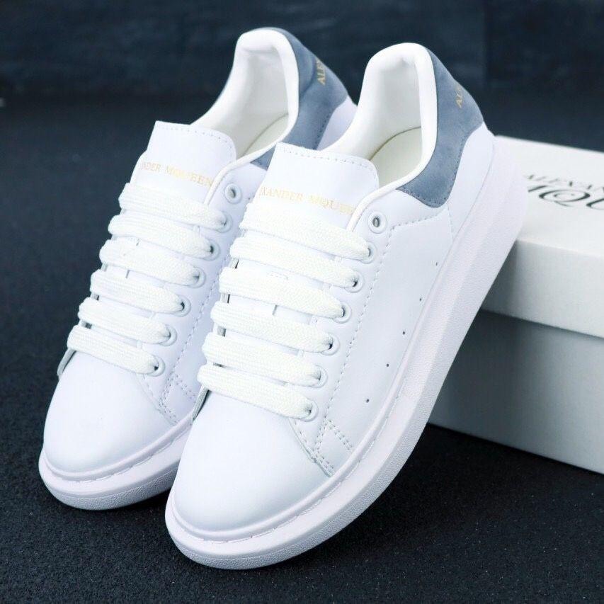 Женские кроссовки в стиле Alexander McQueen White/Grey