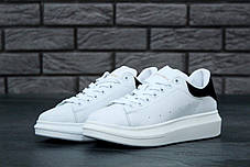 Женские кроссовки в стиле Alexander McQueen White/Black, фото 3
