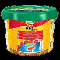Корм для рыб TetraPond KoiSticks - 10л/1,5кгверхности