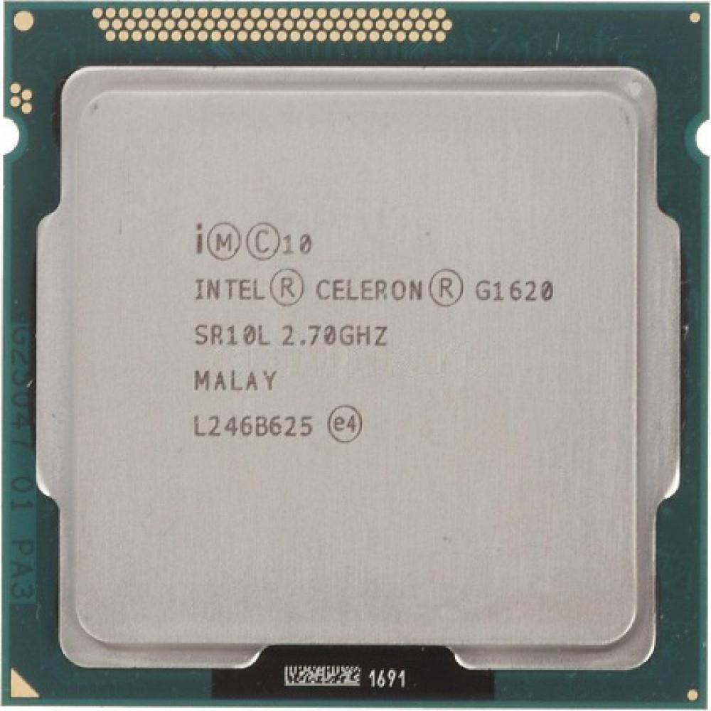 Процессор, Intel Celeron g1620, 2 ядра, 2.7 гГц