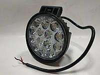 Фары LED Лидер ближний свет 42W 9-32V  14LED d60мм 27-42W Flood