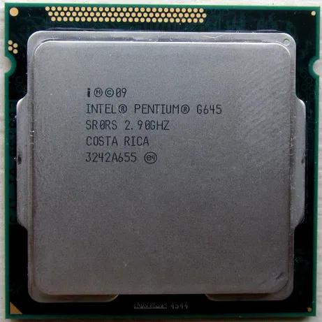 Процессор, Intel Pentium g645, 2 ядра, 2.9 гГц