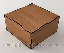 Подарочная деревянная коробка для ремней
