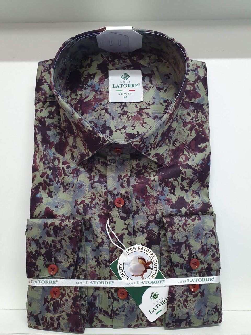 Рубашка Latorre с принтом