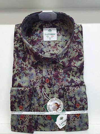 Рубашка Latorre с принтом, фото 2