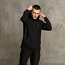 Худи мужское черное Крейг от бренда ТУР, фото 2