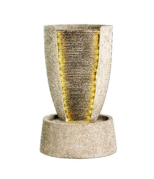 Декоративный фонтан Разрез вазы
